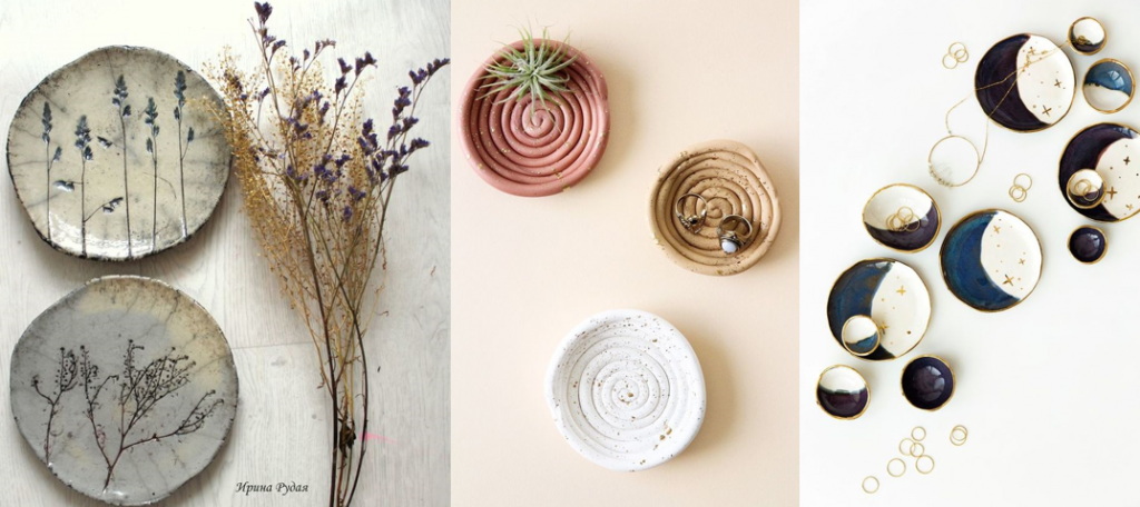 DIY  trends , ring dishes