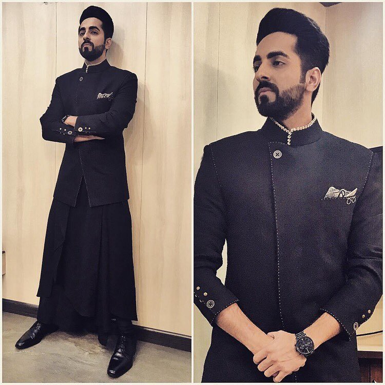 Unique dressing style of Ayushmann
